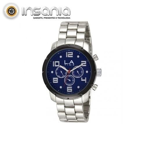 Relógio para Homem L.A Time Azul