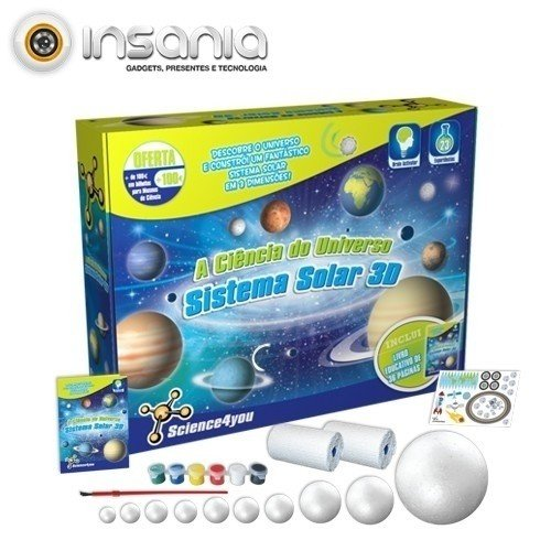 A Ciência do Universo - Sistema Solar 3D Science4you