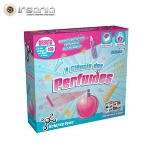 Ciência dos Perfumes Science4you