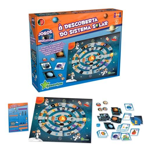 Juego de mesa - Solar System Science4you