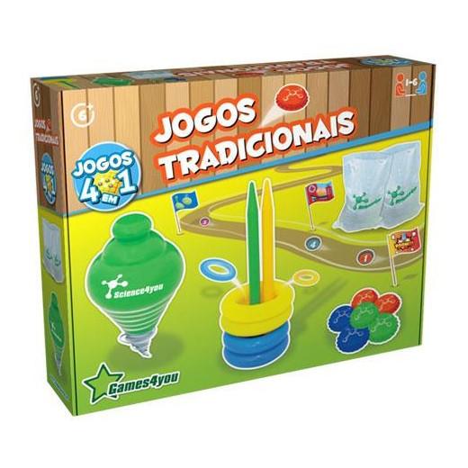 Traditional Games 4-en-1 Science4you