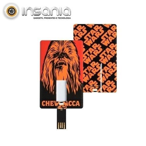 Tribe Cartão Pen Drive Star Wars Chewbacca 8GB