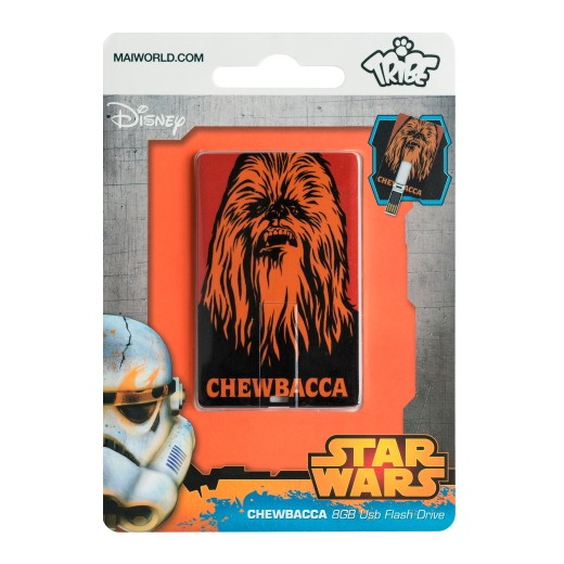 Tribe Cartão Pen Drive Star Wars Chewbacca 8GB