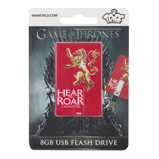 Tribe Cartão Pen Drive Game of Thrones Lannister 8GB