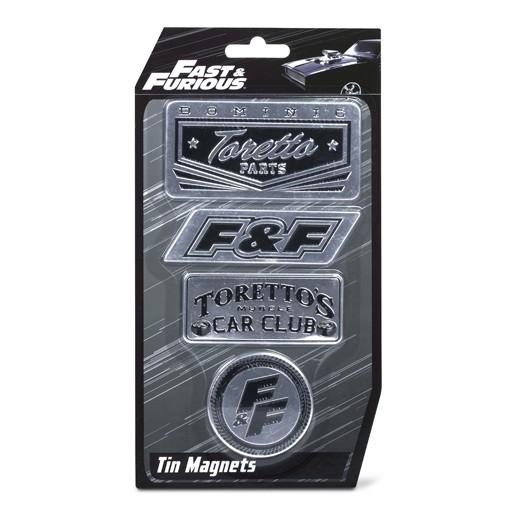Ímanes Frigorífico Fast and Furious (Pack 4)
