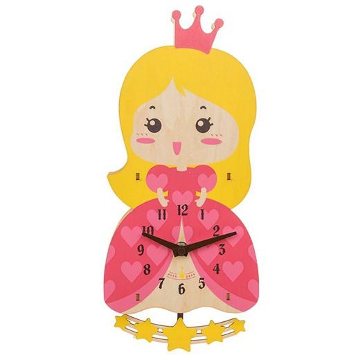 Relógio Princesa em Madeira