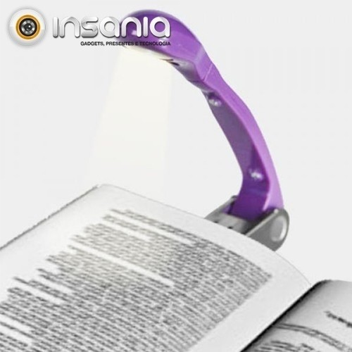 Luz de Leitura com Clipe