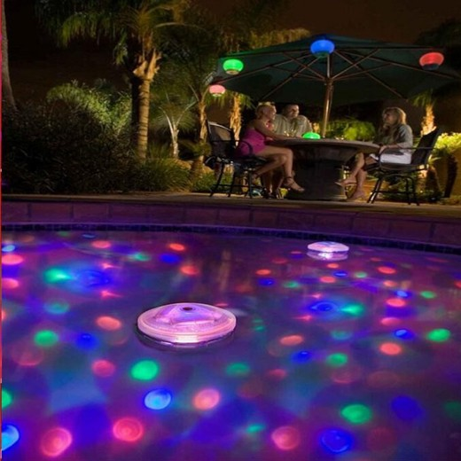 Luzes LED Subaquáticas