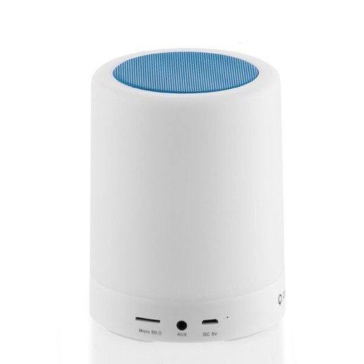 Coluna Bluetooth com Luzes LED