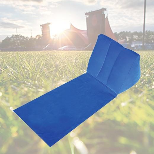 Espreguiçadeira Insuflável Azul