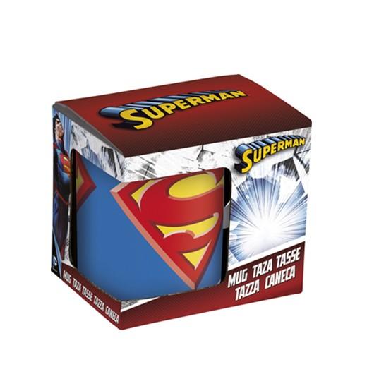 Caneca Colorida Logo Super-Homem