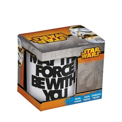 Caneca May The Force Be With You Star Wars
