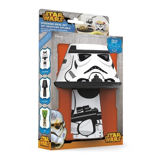 Conjunto para Refeições Empilhável Storm Trooper