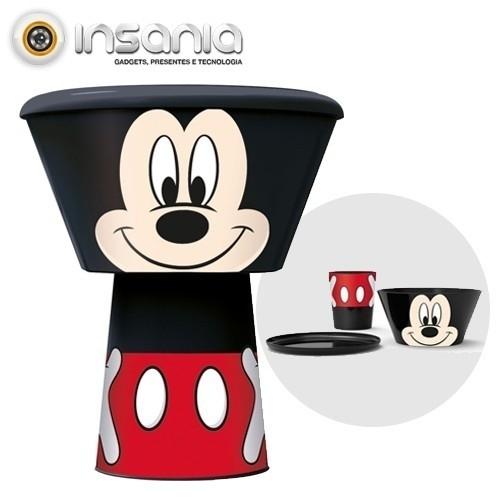Conjunto para Refeições Empilhável Rato Mickey