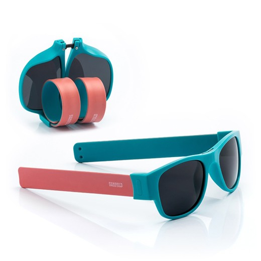 Óculos de Sol Dobráveis Accent Rosa / Azul