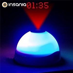 Despertador LED com Projeção