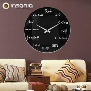 Relógio de Parede Matemática