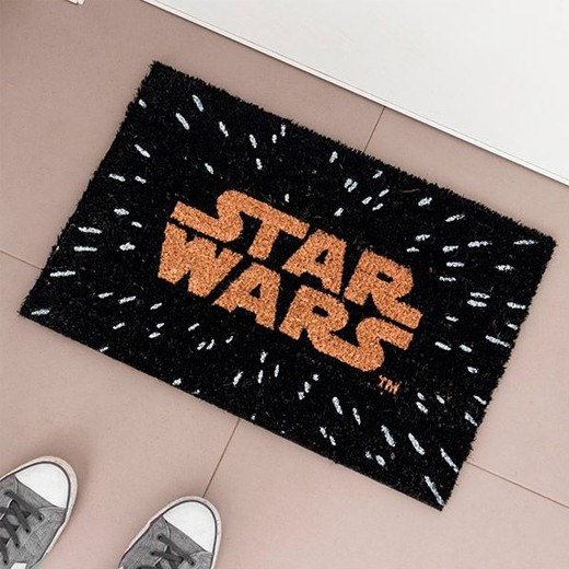 Alfombra Logo Star Wars Negro