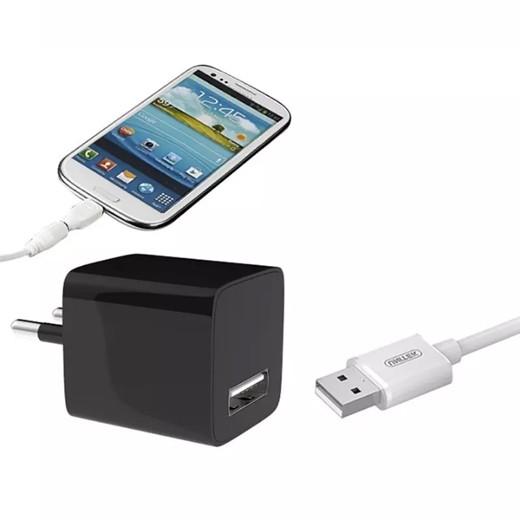Cargador USB con Cámara