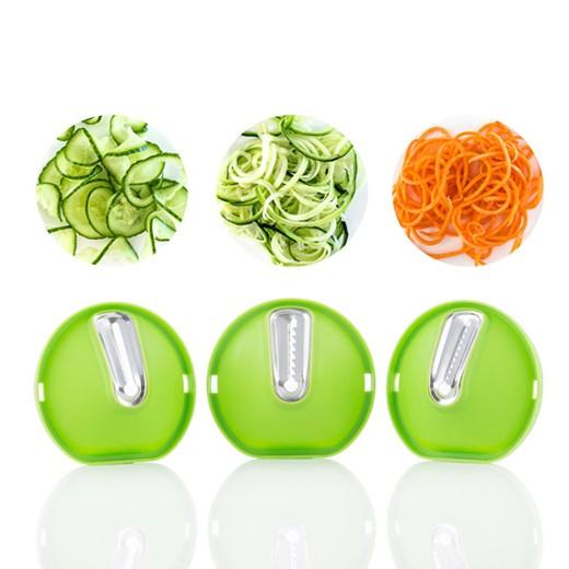 Cortador de Verduras en Espiral 3-en-1