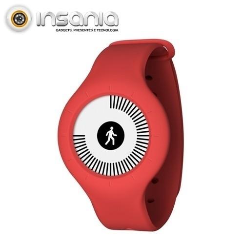 Relógio de Atividade Física Nokia Go Vermelho