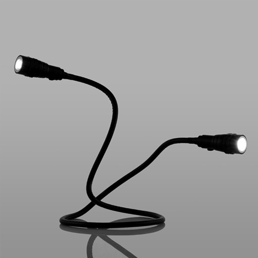 Lanterna LED Dupla Flexível Magnetizada