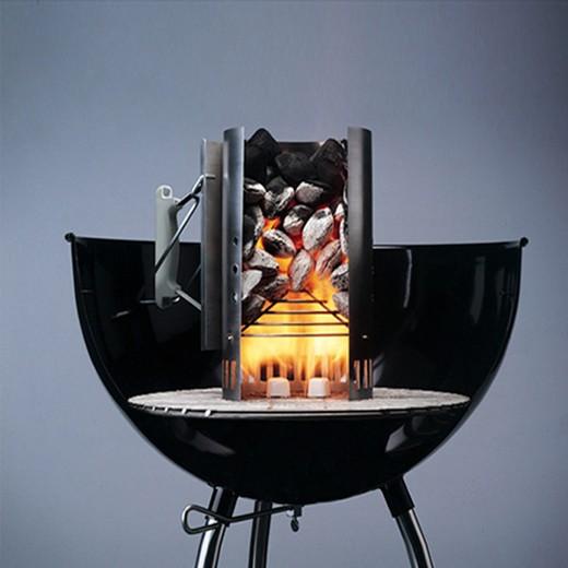 Acendedor de Carvão para Churrascos