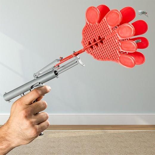 Pistola Matamoscas Mãos