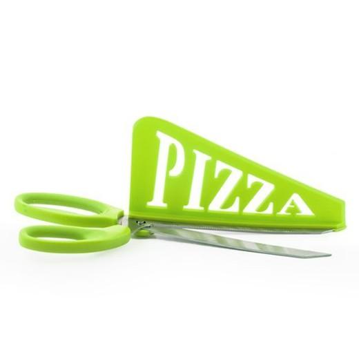 Tesoura com Espátula para Pizzas