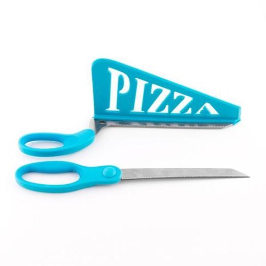 Tijera con Espátula para Pizzas