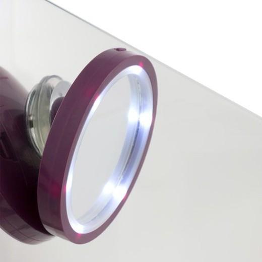 Espelho de Aumento com LED