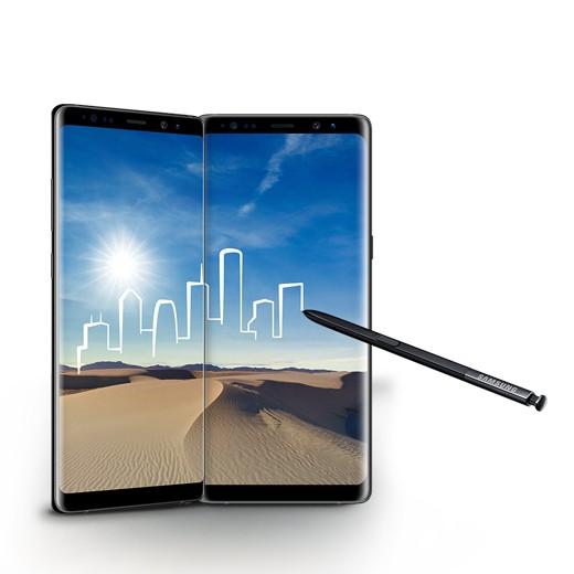 Smartphone Samsung Galaxy Note 8 64GB Preto