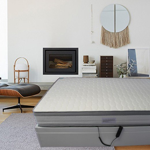 Colchão Solteiro Visco +Conforto 3D