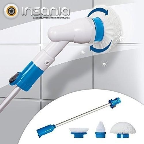 Escova de Limpeza Rotativa Spin Scrubber