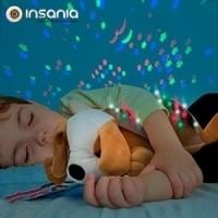 Peluche Projetor LED Cão com Som