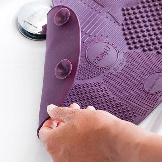 Tapete de Silicone para Limpeza de Pincéis
