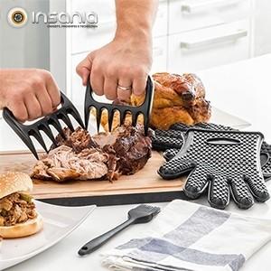 Garras para Carne com Luvas e Pincel