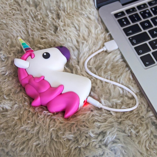 Power Bank Emoticono Unicornio