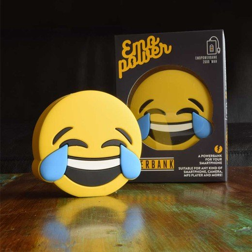 Powerbank Emoticon LOL