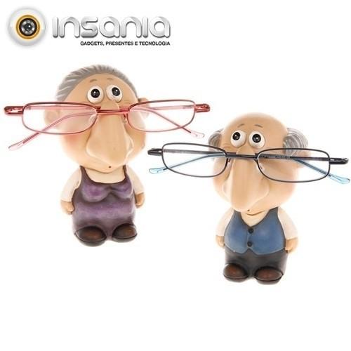 Porta-óculos Idosos