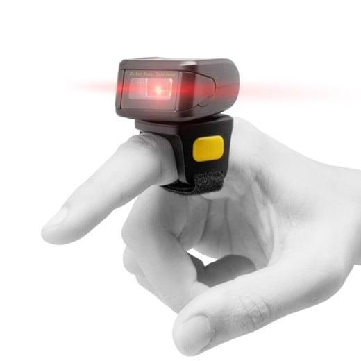 Leitor de Códigos de Barras Bluetooth para Dedo