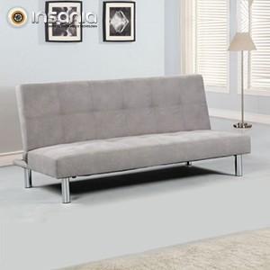 Sofá-cama Cinzento