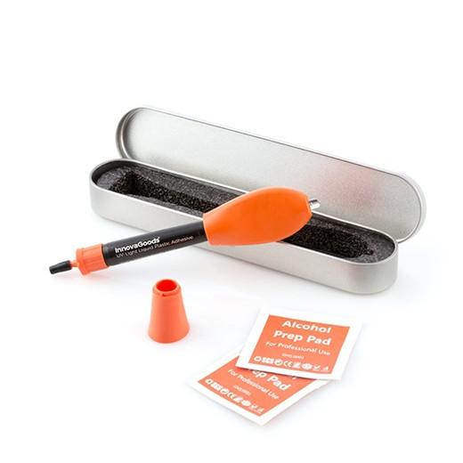 Adesivo Soldador Rápido de Plástico Líquido com UV