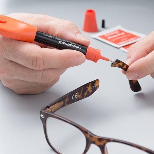 Pegamento Adhesivo Soldador Rápido de Plástico Líquido con UV