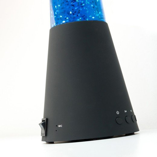 Lâmpada de Lava Bluetooth com Altifalante