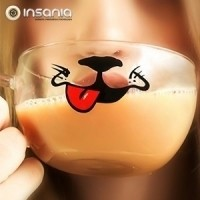 Chávena de Vidro Cão
