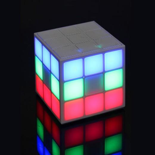 Coluna sem Fios LED Rubik