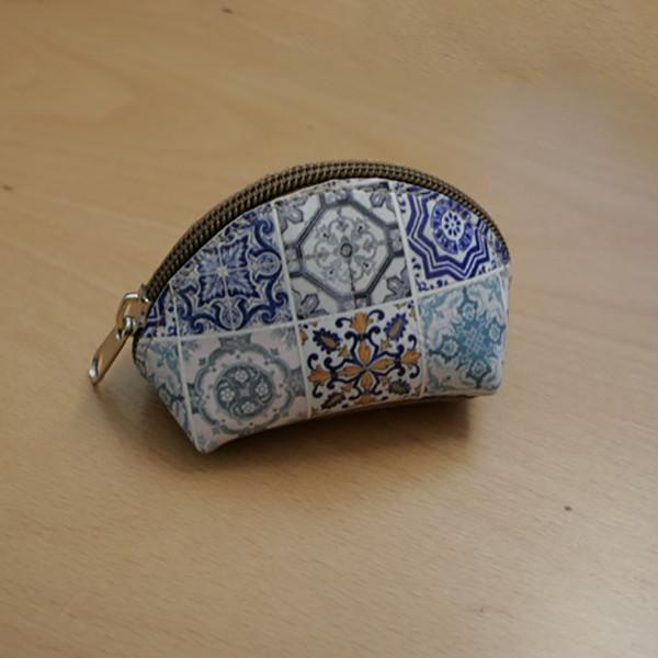 Porta-moedas Cortiça com Padrão