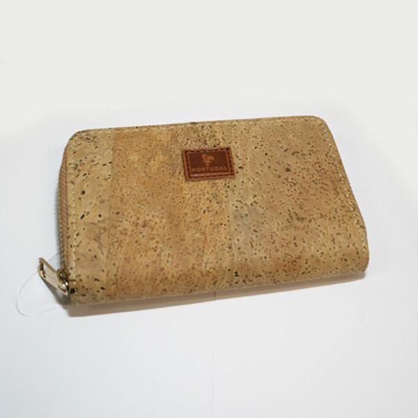Carteira e Porta-documentos em Cortiça 14 x 9 cm