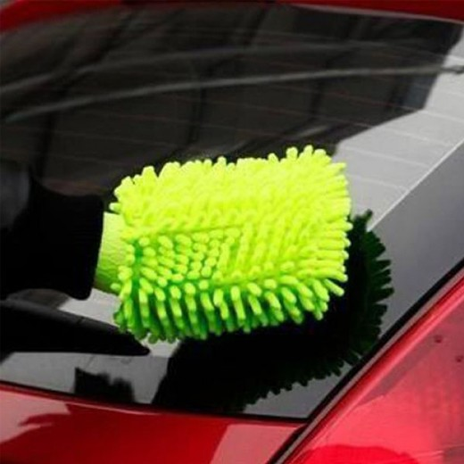 Luva de Microfibra para o Carro